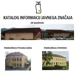 Katalog informacija javnega značaja