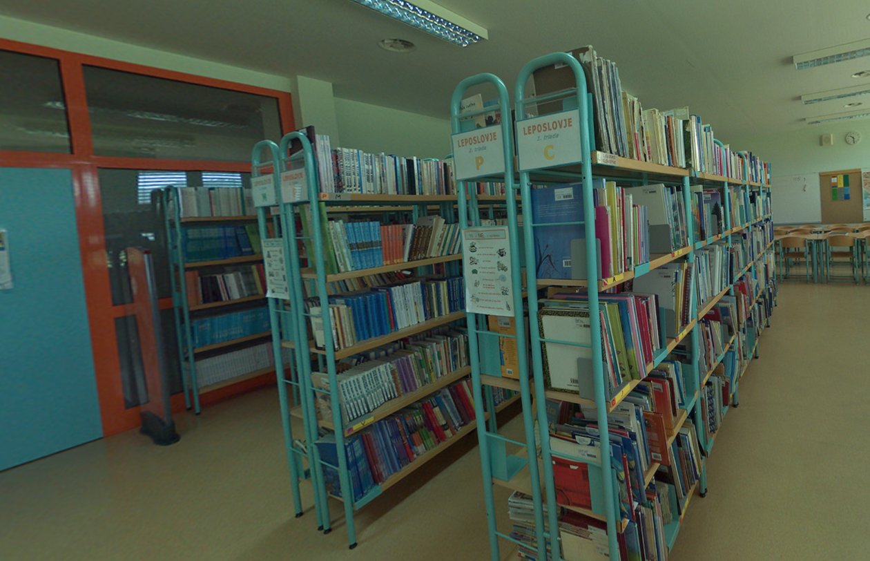 Slika knižnice